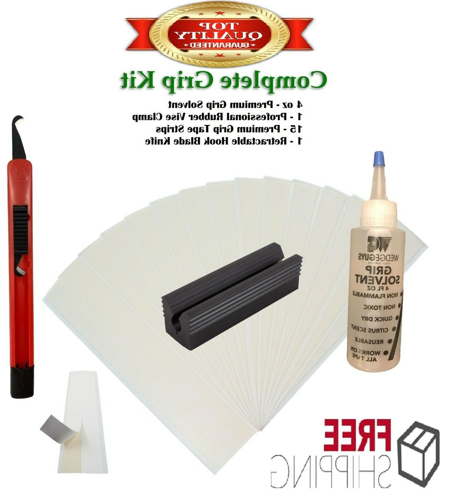 golf club grip kit 15 tape strips
