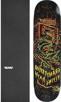 Anti Hero Skateboards Grant Taylor Flying Rat II Black/Yello