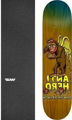 "Anti Hero Skateboards Grimple Business 8.06"" Skateboard Deck"