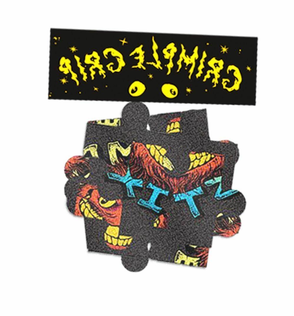 """GRIMPLE STIX Skateboards """"Grimple Puzzle Griptape"""