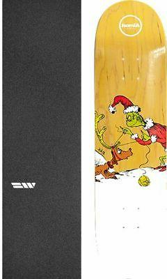 "Almost Skateboards Grinch 8"" Skateboard Deck + griptape"