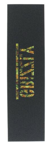GRIZZLY GRIP PUDWILL KUSH Skateboard PERFORATED WEED LOGO -