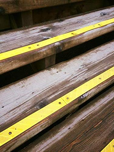 """Adhesive Non-Slip High Traction Improve in the for Indoor L 32"""" 2"""","""