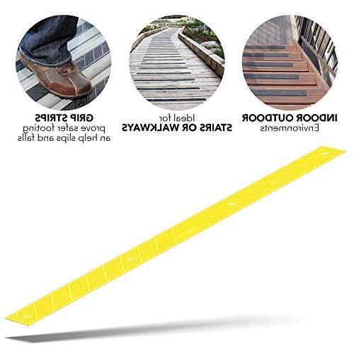 grip strip safety yellow anti