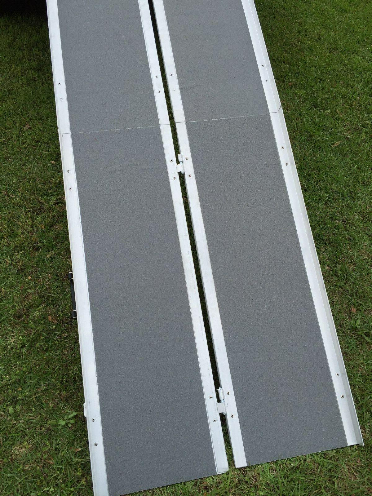 7' Grip Tape Wheelchair Portable Carrier Ramp van