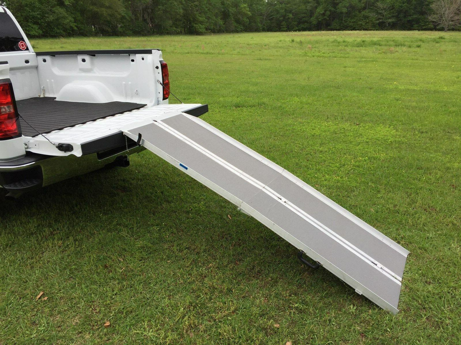 7' Wheelchair Folding Carrier van