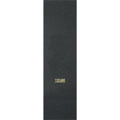 "Grizzly Grip Tape Mini Stamp Black / Gold Griptape - 9"" x 33"