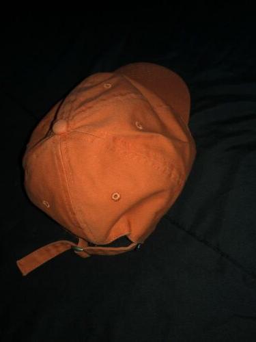 Grizzly Griptape Bear Logo Headwear Hat Lid Orange