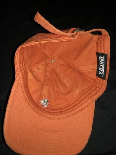 Grizzly Griptape Bear Hat Cap Lid Orange