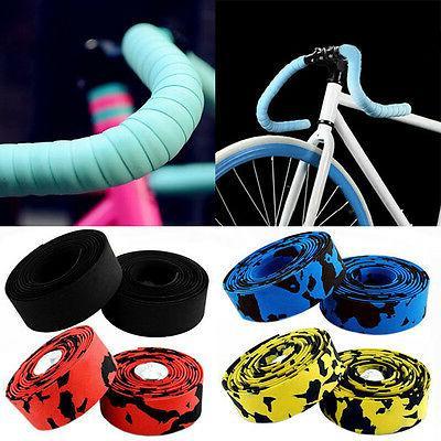Cycling Road MTB Bar Wrap +2 Bar plug