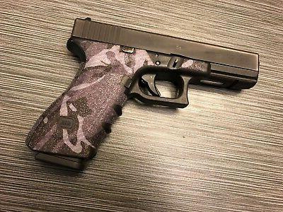 HANDLEITGRIPS Blue Sandpaper Grip Tape Glock 17 Gen3