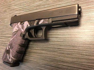 HANDLEITGRIPS Blue Camo Gun Tape for Glock 34/ 35