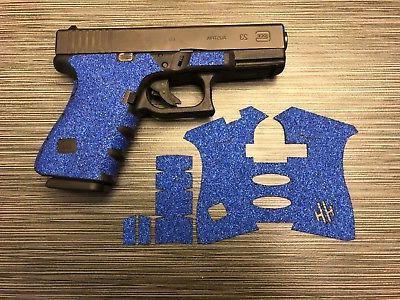 handleitgrips blue sandpaper grip tape wrap gun