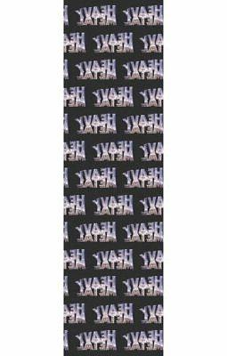 heavy metal magazine skateboard grip tape
