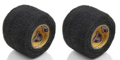 "Howies Hockey Power Grip Tape - 2 Rolls of Black 1.5""x5 Yard"
