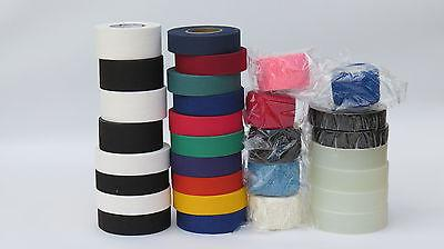 hockey tape 30 rolls clear cloth friction