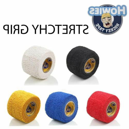 hockey tape stretchy stick grip tacky cushion