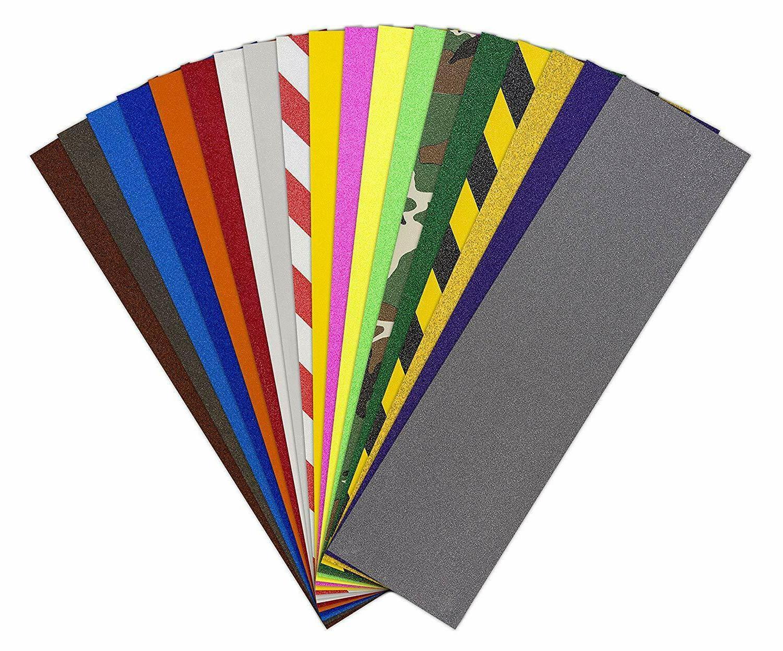 jessup quality skateboard colored griptape 9 x