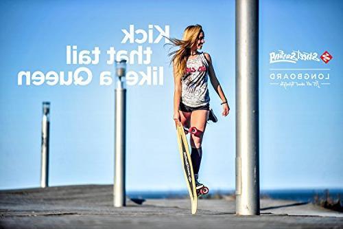 """Street Surfing 36"""" Blown Deck Design. Platform. 9 Wheels"""
