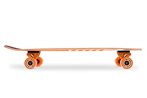 "Street Surfing Kicktail Blown Out Skateboard 36"" Deck Platform. Durable ABEC 9 Wheels"