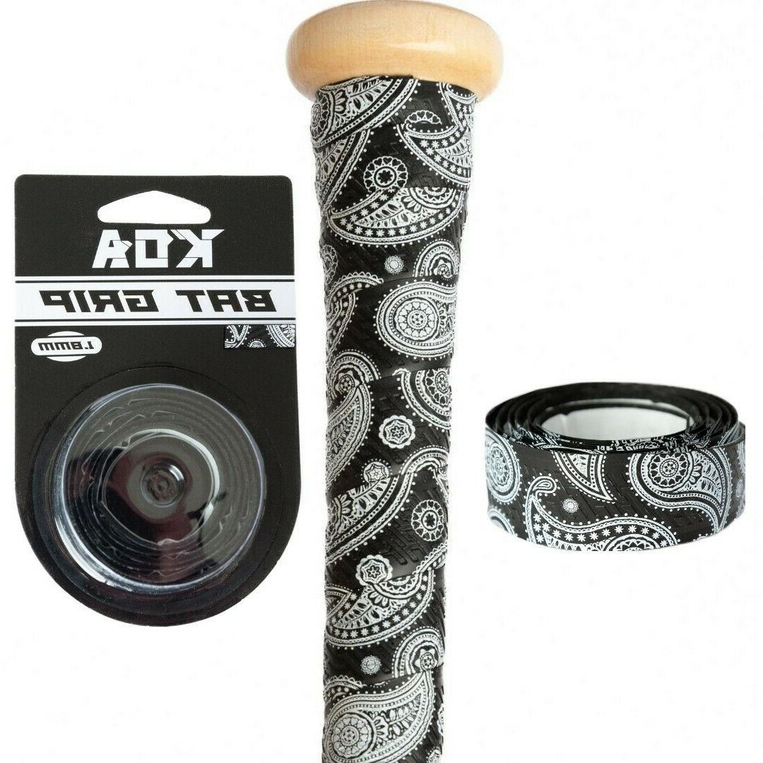 Koa Baseball Softball Bat Grip Wrap Tape 1.8mm Paisley Banda