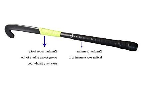 2-Pack of Zingther Premium Leather Grip for Raquet, Hockey/Golf Stick Soft, Cushion