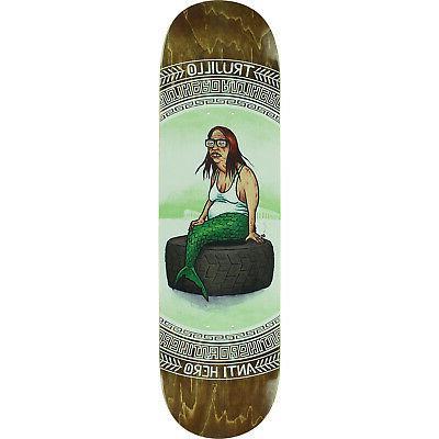 "Anti Skateboards 8.12"" Skateboard Deck griptape"