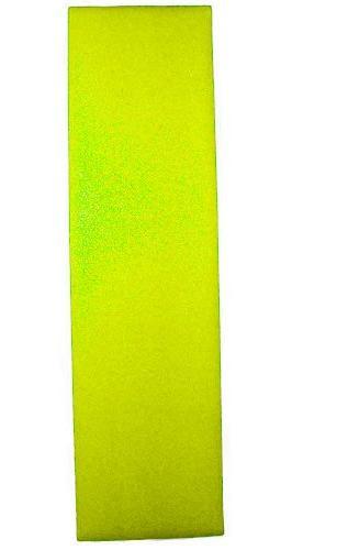 Longboard Grip tape Sheet 10 in x 48 in NEON YELLOW Skateboa