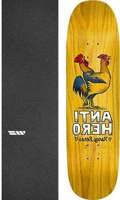 "Anti Hero Skateboards For Lovers 8.63"" Skateboard Deck + gri"