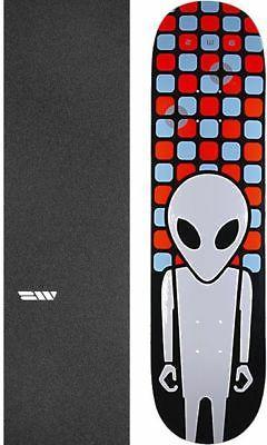 "Alien Workshop  Matrix Embossed 8.25"" Skateboard Deck + grip"
