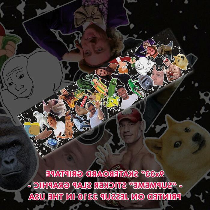 Meme Skateboard Griptape 9x33