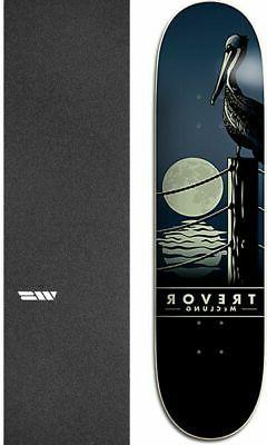 """Plan B Skateboards Moonrise 8"""" Skateboard Deck + griptape"""