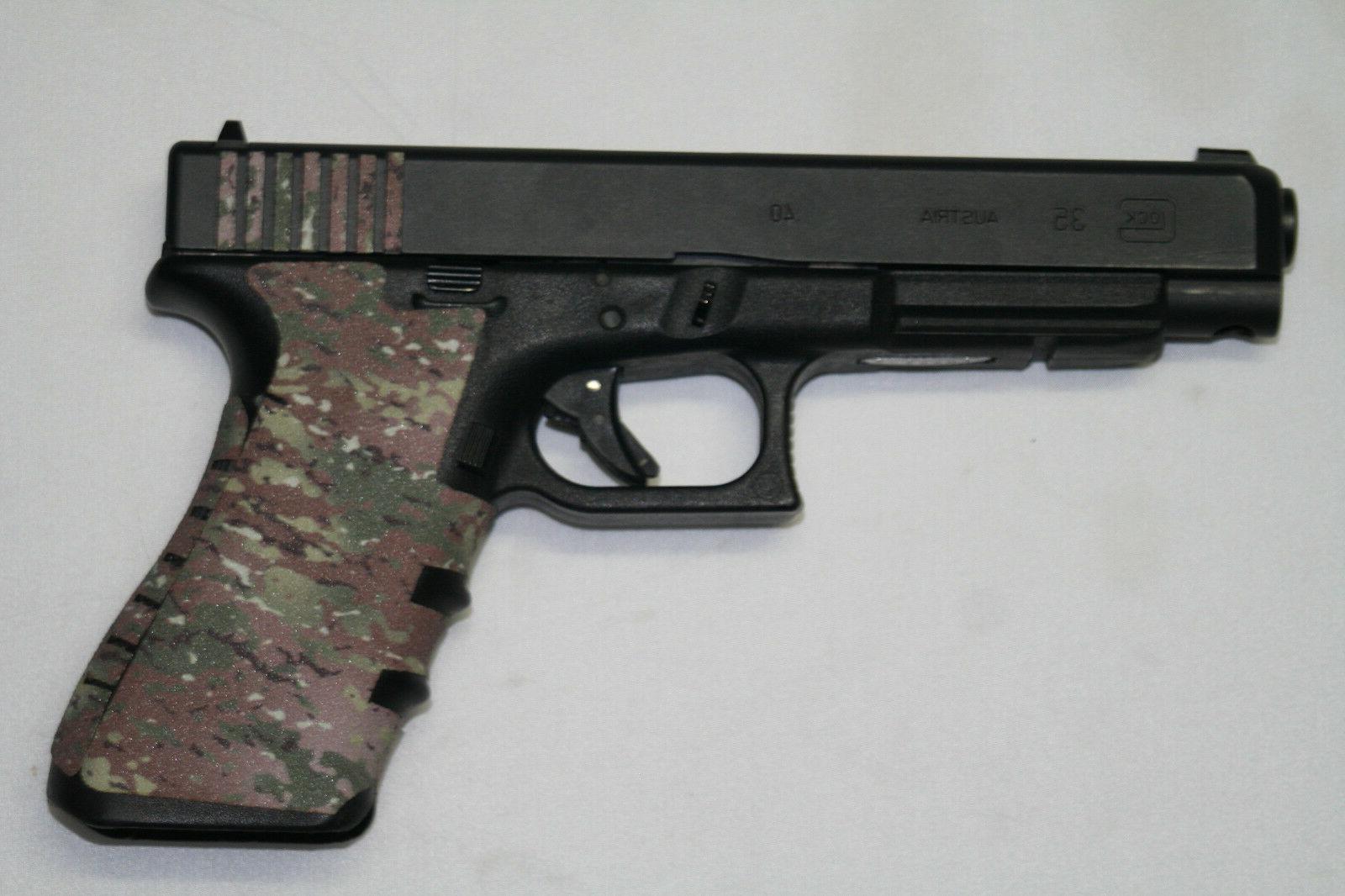 multi camo camouflage gun grip tape pistol