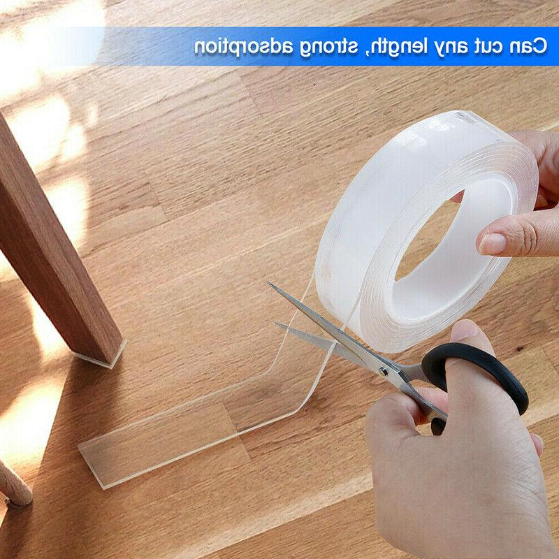 Multi-function Sided Adhesive Removable Gel Grip Sticker