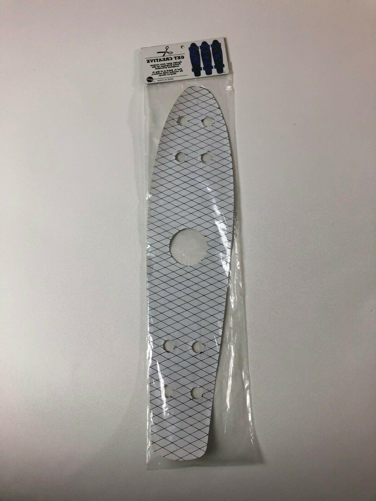 "New 22"" Silver Glitter Skateboard"