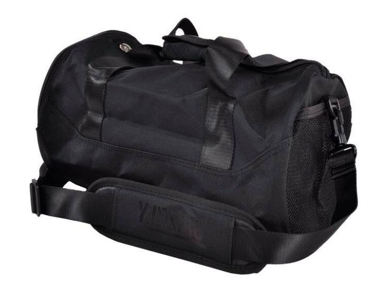 New Grizzly Griptape  Black Gym Duffle Bag Carry