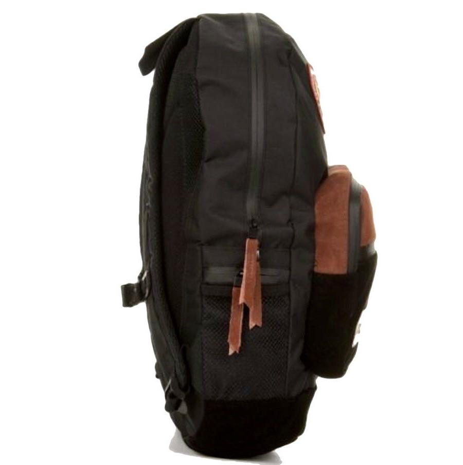 New Grizzly Black Mens Travel Bag BCK-793