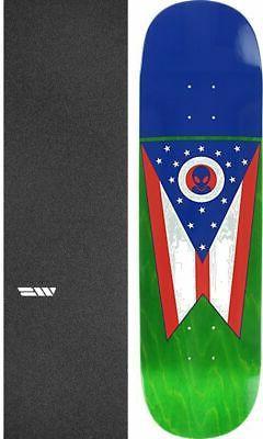 """Alien Workshop  Ohian 8.5"""" Skateboard Deck + griptape"""