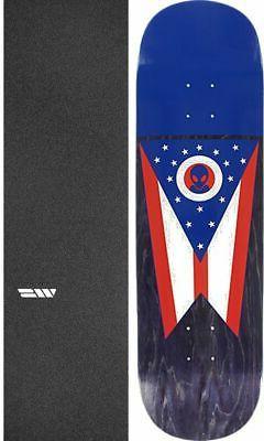"""Alien Workshop  Ohian 8.75"""" Skateboard Deck + griptape"""