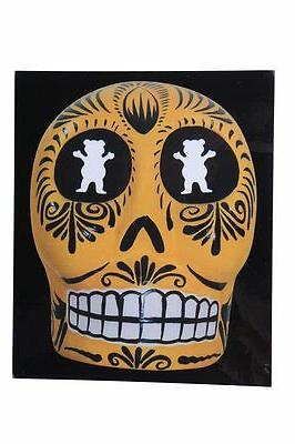 "Grizzly Griptape P-Rod Sugar Skull 5"" Paul Rodriguez Skatebo"
