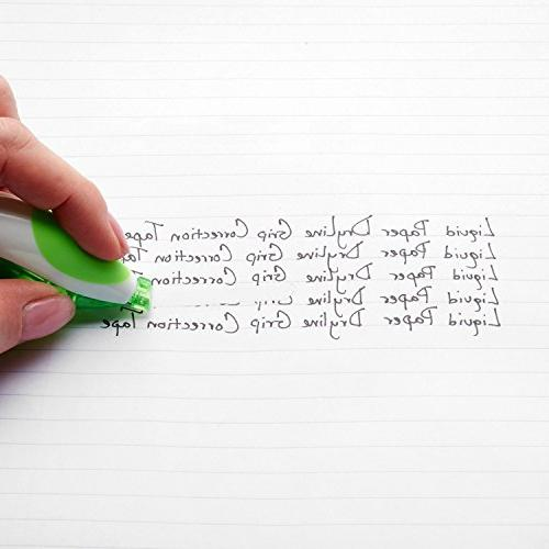 PaperMate Paper DryLine Grip Correction Tape, of 12