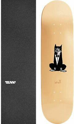 pets 8 37 skateboard deck griptape