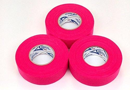 pink cloth ice hockey tape