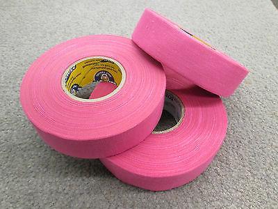 Pink Stick Tape - 3 Rolls Hockey Tape Tape