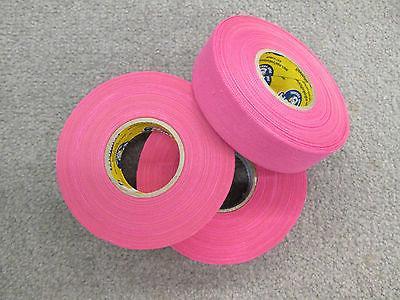 Pink Stick - - 3 Rolls - Howies Hockey Tape