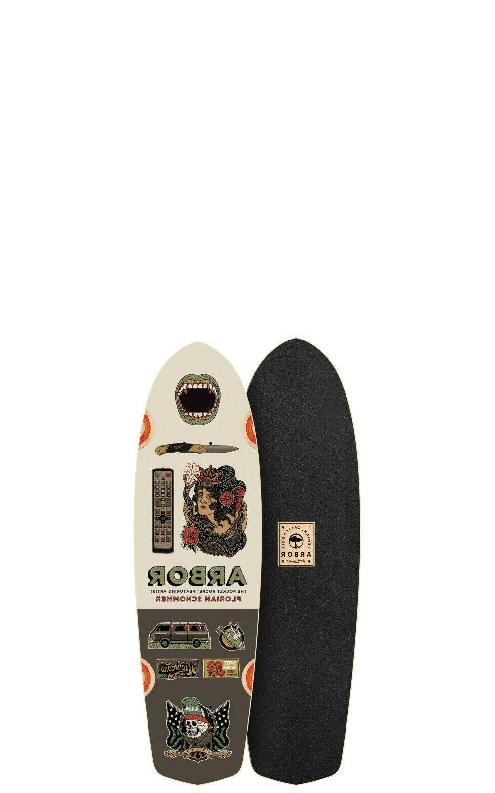 pocket rocket artist longboard skateboards deck only