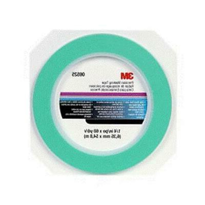 3M 6525 0. 25 inch Precision Mask Precision Masking Tape- 0.