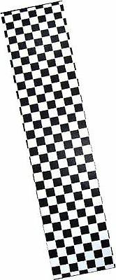 "PRO SKATEBOARD GRIP TAPE CKECKER BLACK/WHITE GRAPHIC 33""X9"""