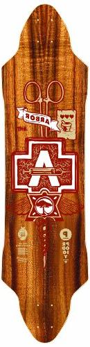 Arbor Prodigy Grip Tape Topsheet Longboard Deck, 38-Inch