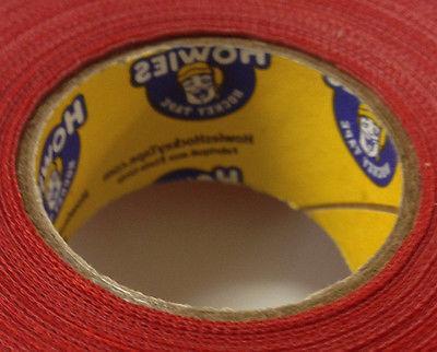 Red Hockey Tape - 1x27 Yards - 3 Rolls Red Grip